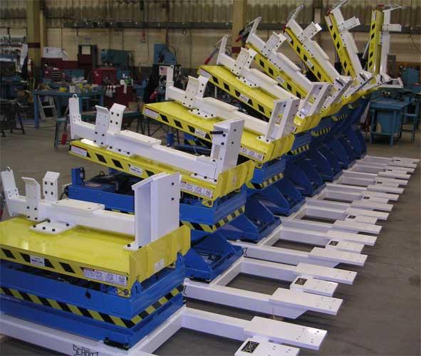 Pneumatic Lift Table Design vestil pneumatic scissor lift table 200 lb capacity model at Custom Lift Tables