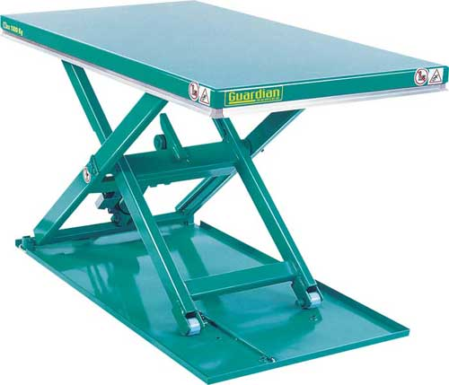 Guardian Low Profile Lift Table