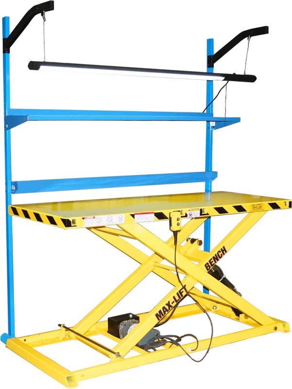 Max-Lift Bench Portable Adjustable Work Bench