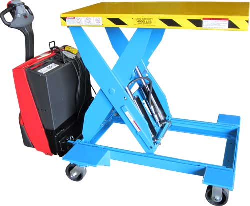Mgv Heavy Duty Self Propelled Electric Hydraulic Lift Tables