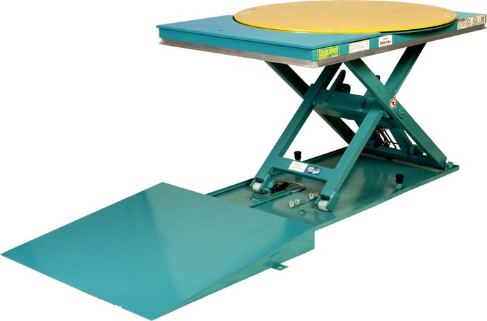 Guardian Lift Amp Spin Scissors Table By Lift Products Inc