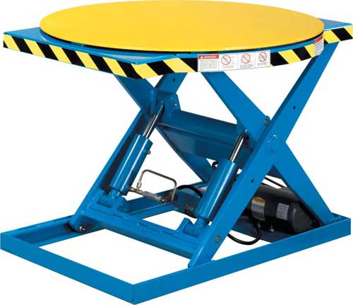 Roto Max Rotating Scissor Lift Tables By Lift Products Inc