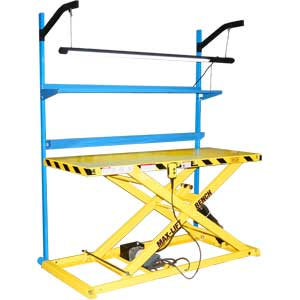 Max Lift Bench Portable Adjustable Work Bench