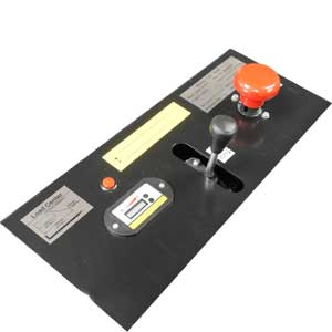 Skid lifter controls